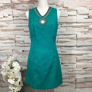 Laundry Beaded Dress Sz 6 (H36)